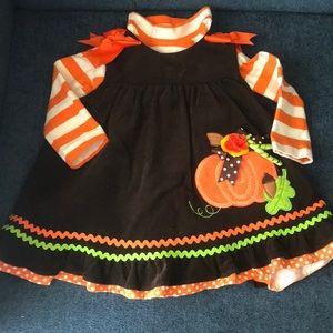 Adorable Fall dress set